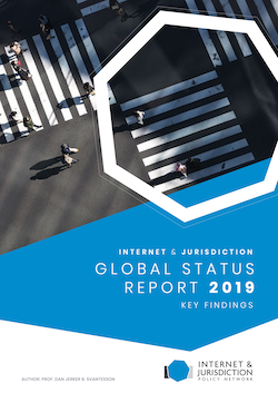 2019 Internet Jurisdiction Global Status Report 2019 Key Findings Cover High Res
