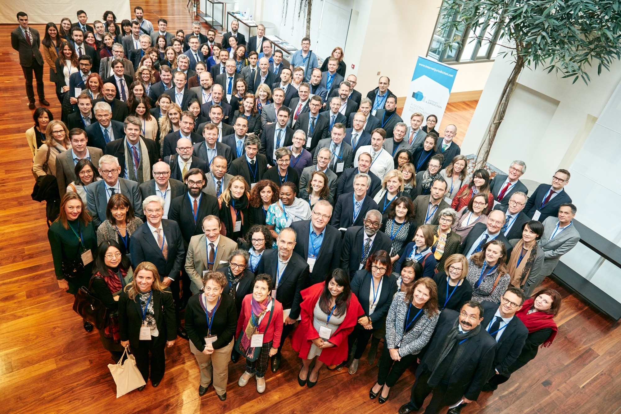 Internet Jurisdiction Multistakeholder Policy Network 2016 Group Photo